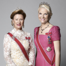 Her Majesty Queen Sonja and Her Royal Highness Crown Princess Mette-Marit. Published 22.01.2011. Handout picture from The Royal Court. For editorial use only, not for sale. Photo: Sølve Sundsbø / The Royal Court.