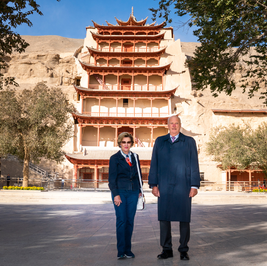 Visit to the Mogao Caves