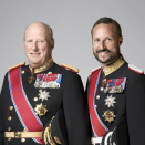 His Majesty King Harald and His Royal Highness Crown Prince Haakon. Published 22.01.2011. Handout picture from The Royal Court. For editorial use only, not for sale. Photo: Sølve Sundsbø / The Royal Court.
