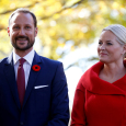 Crown Prince Haakon and Crown Princess Mette-Marit at Rideau Hall. Photo: REUTERS / Chris Wattie
