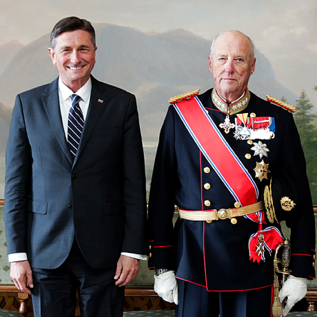 State visit from Slovenia