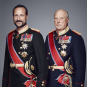 His Majesty The King and His Royal Highness The Crown Prince. Handout picture from the Royal Court published 15.01.2016. For editorial use only, not for sale. Photo: Jørgen Gomnæs / The Royal Court.