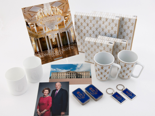 Some of the souvenirs available at the gift shop. Photo: Jan Haug, the Royal Court