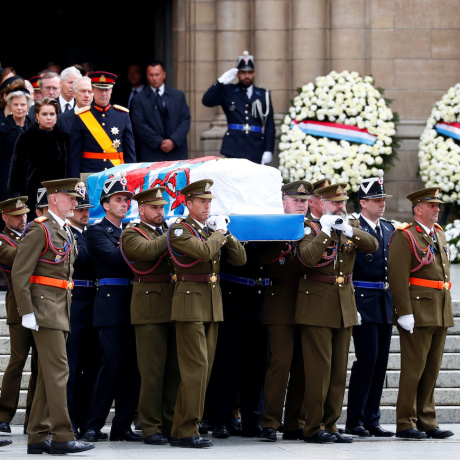 Funeral in Luxembourg