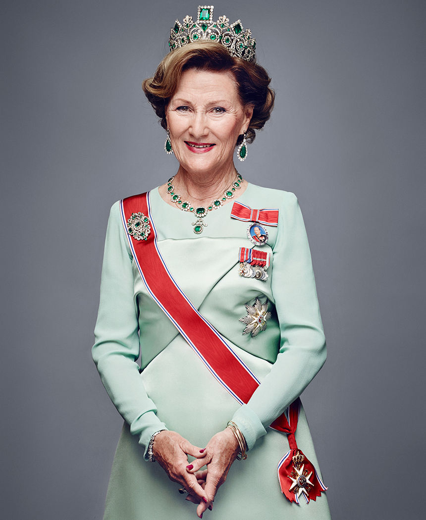 Her Majesty The Queen. Photo: Jørgen Gomnæs / The Royal Court