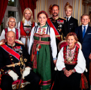 The Royal Family. Photo: Lise Åserud, NTB scanpix