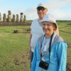 The King and Queen on Easter Island