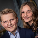 Princess Ingrid Alexandra and Prince Sverre Magnus. Photo: Julia Naglestad, the Royal Court