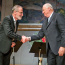 Presented the Abel Prize to French mathematician