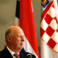 King Harald began the first Norwegian State visit to Croatia today (Photo: Lise Åserud / Scanpix)