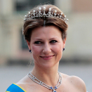 Princess Märtha Louise at the wedding between Princess Madeleine of Sweden and Mr Chris O'Neill in Stockholm. Photo: Lise Åserud, NTB scanpix