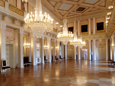 The Great Hall (the Ballroom) - The Royal House of Norway