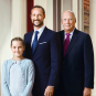 His Majesty The King, His Royal Highness The Crown Prince and Her Royal Highness The Princess. Photo: Jørgen Gomnæs, the Royal Court.
