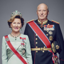 Their Majesties The King and Queen. Handout picture from the Royal Court published 15.01.2016. For editorial use only, not for sale. Photo: Jørgen Gomnæs / The Royal Court.