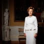 Her Majesty Queen Sonja photographed on the occasion of the King and Queen's 80th anniversaries in 2017. Photo: Lise Åserud, NTB scanpix.