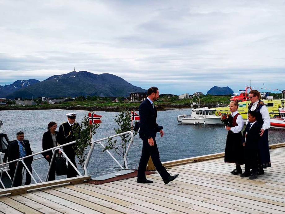 World Heritage at Vega - The Royal House of Norway