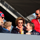 The Royal Family in Holmenkollen ski arena. Photo: Marius Gulliksrud, Stella Pictures.