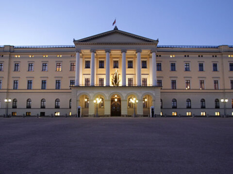 The Royal Palace. Photo: Lise Åserud / NTB scanpix