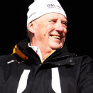 King Harald attended all the competions during the championships (Photo: Lise Åserud, Scanpix)