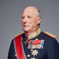 His Majesty King Harald 2016. Photo: Jørgen Gomnæs, The Royal Court.
