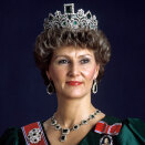 Crown Princess Sonja 1987 (Photo: Bjørn Sigurdsøn, Scanpix)