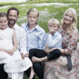 The Crown Prince and Crown Princess' family. Published 20 July 2013 on the occasion of The Crown Prince's 40th birthday. Handout picture from The Royal Court. For editorial use only, not for sale. Photo: Sølve Sundsbø, The Royal Court.