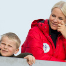 Crown Princess Mette-Marit and Prince Sverre Magnus (Photo: Stella pictures)