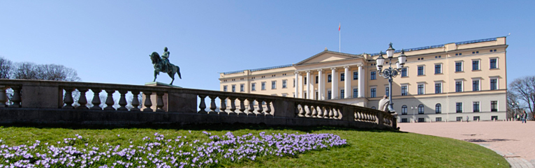 The Royal Palace in May. Photo: Jan Haug, The Royal Court