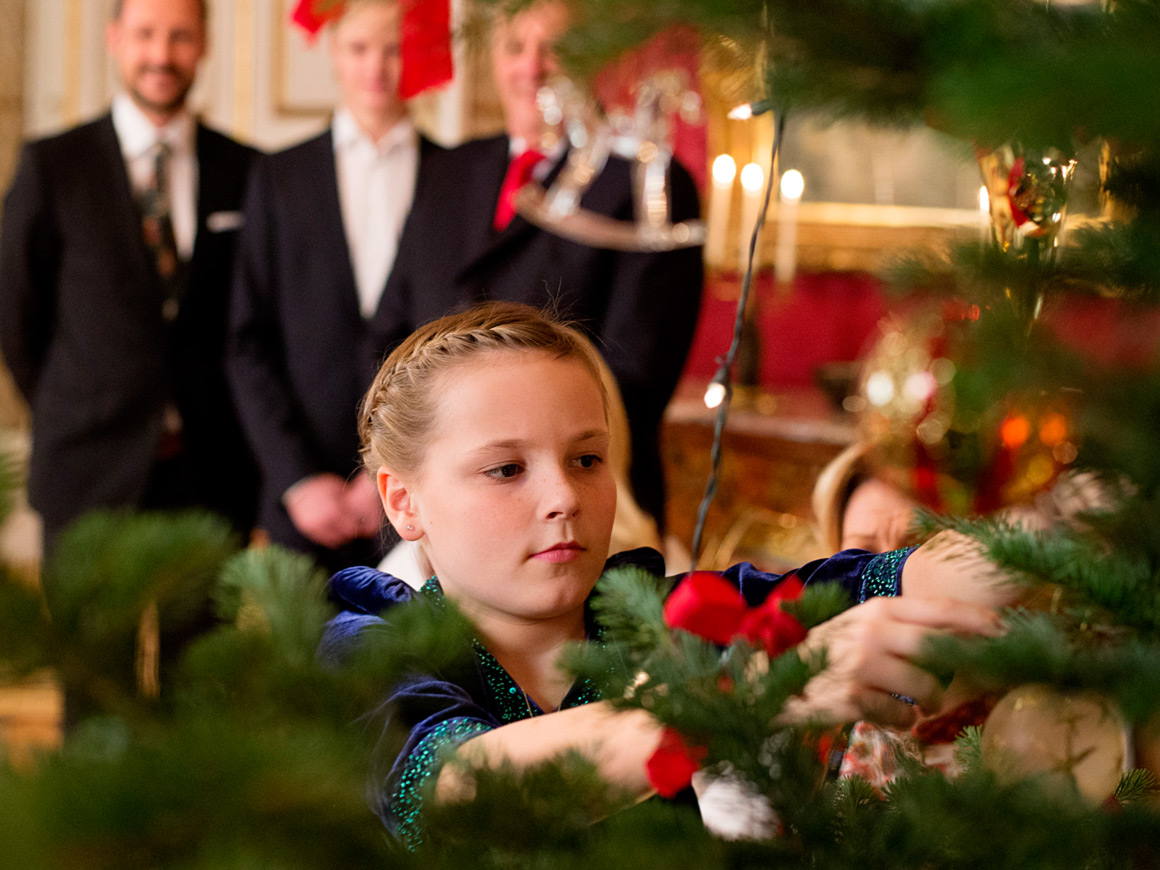 Christmas photos - The Royal House of Norway