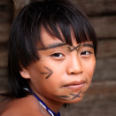 A young Yanomami boy from the village.  (Photo: Rainforest Foundation Norway / ISA Brazil)