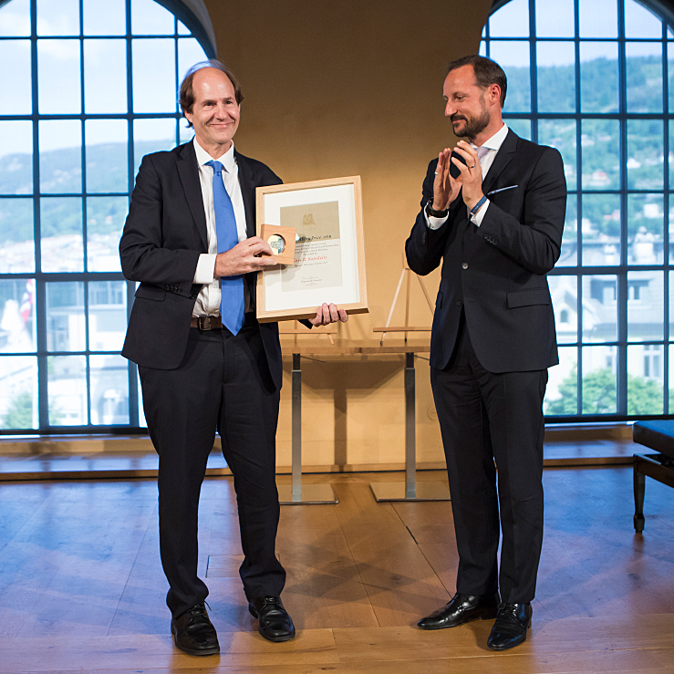 Holberg Prize awarded to US legal scholar