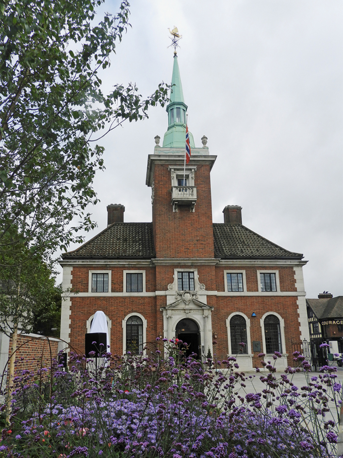The Norwegian Church Abroad in London. Photo: Sven Gjeruldsen, The Royal Court