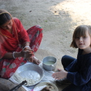 Princess Ingrid Alexandra making a local bread with a lady in Rajastan, India. Published 22.12.2010. Handout picture from The Royal Court. For editorial use only, not for sale. Photo: The Royal Court. Image size: 4752 x 3168 px, 5,48 Mb.