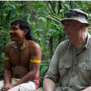 King Harald was impressed by the various tricks employed to fell their prey. (Photo: Rainforest Foundation Norway / ISA Brazil)
