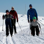 The Crown Prince Family skiing at Beitostølen (Photo: Lise Åserud, NTB Scanpix)