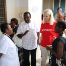 The Crown Princess visits UNAIDS supported programmes in Tanzania. Photo: Christian Lagaard, the Royal Court.