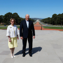The King and Queen met the media in Canberra. Photo: Lise Åserud / NTB scanpix