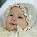 Maud Angelica Behn was baptized in the Palace Chapel 2 July 2003 (Photo: Knut Falch / Scanpix)