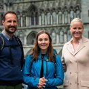The Princess received her confirmation instruction at the Asker Church congregation under the direction of Provost Tor Øystein Våland and Vicar Karoline Astrup. Pilgrimage to Nidaros Cathedral was also part of the preparations. Photo: Kjartan Ovesen, NTB/NRK