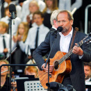 Ole Paus was among the artists performing on the Opera Roof (Photo: Fredrik Varfjell / NTB scanpix)