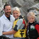 In June 2011, TV2's Thomas Numme and Harald Rønneberg met The Crown Prince and Crown Princess at Dvergsøya outside Kristiansand. The result, is a program to be televised on the occasion of the Crown Prince and Crown Princess 10th wedding anniversary 25 August 2011. Handout picture from The Royal Court. Published 17.08.2011. For editorial use only, not for sale. Photo: The Royal Court. Image size: 5184 x 3456 px, 5,16 Mb.