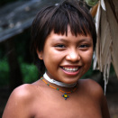A young Yanomami girl from the village (Photo: Rainforest Foundation Norway / ISA Brazil)