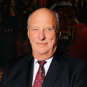 His Majesty King Harald, photographed on the occasion of his 80th anniversary 21 February 2017. Photo: Jørgen Gomnæs, The Royal Court.