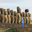 King Harald and Queen Sonja visited Easter Island during Easter 2014. Published 06.10.2014. Handout picture from The Royal Court. For editorial use only, not for sale.  Photo: the Royal Court of Norway.