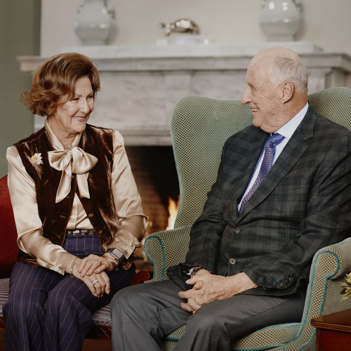 Thank you from King Harald and Queen Sonja