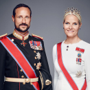 Their Royal Highnesses The Crown Prince and Crown Princess. Photo: Jørgen Gomnæs, the Royal Court