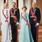 Their Majesties The King and Queen, Their Royal Highnesses The Crown Prince and Crown Princess. Photo: Jørgen Gomnæs, the Royal Court