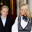 Crown Princess Mette-Marit and Marius (Photo: Lise Åserud, Scanpix)