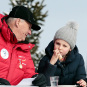 The King and The Princess in Holmenkollen (Photo: Lise Åserud / NTB scanpix)