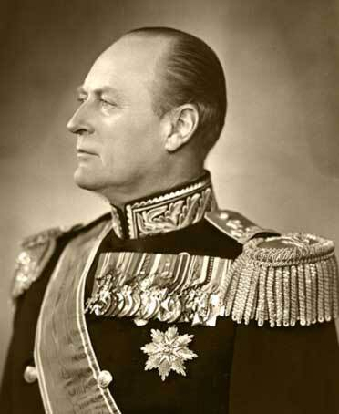 King Olav 1953 (Photo: E. Rude, the Royal Court Archive)
